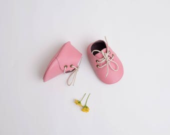 Nellie Baby Boots in Pink