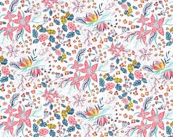 Liberty Fabric Tana Lawn One Yard Beach Blossom A