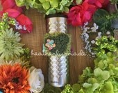 Disney Inspired Epcot International Flower and Garden Festival Cup Cozy