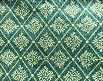 1/2 yard of premium Teal fannel fabric.  (133FH)