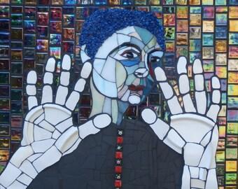 Look Beyond, Original Mosaic Portrait