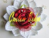 Custom order for  SSCCrafts   crochet flowers