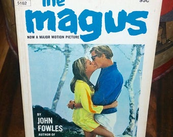 The Magus by John Fowles Vintage Paperback Book