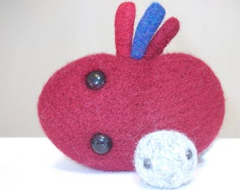 Kidney plush, plush kidney stone, plush organs, plush guts, amigurumi kidney, stuffed kidney, get well gift, hospital gift, made to order
