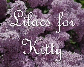 Lilacs for Kitty soy candle