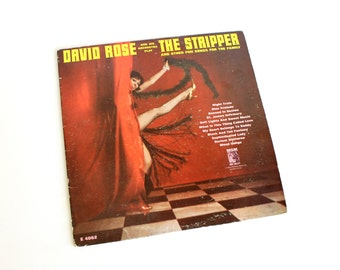 Vintage The Stripper Record Album David Rose Orchestra Striptease Instrumental 1962