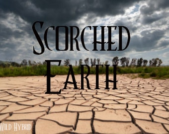 Scorched Earth perfume oil - 5ml - A hot wind over parched and charred earth