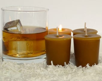 TOASTED COCONUT BOURBON (4 votives or 4-oz soy jar candle)