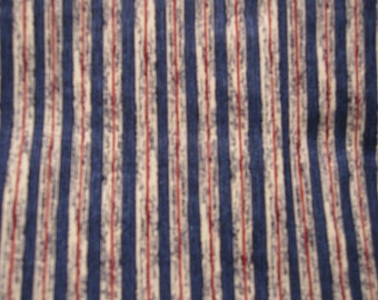 Fabris Sale  Red White and Blue stripes , 2 pieces, patriotic