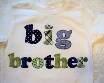 Big Brother Shirt - Little Brother Shirt- Lil Bro Shirt- Big Bro Shirt -Sibling Shirts- big brother
