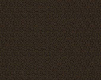NEW Crafty Cats Craft 100% Cotton Quilt Fabric Over One Yard Cut of Tonal Brown