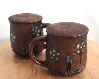 Salt and Pepper Shakers  // Vintage Pottery