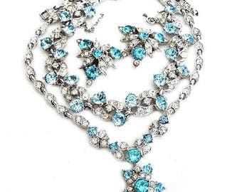 Bogoff Aqua and Clear Parure