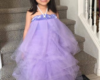 Girls Loofah costume