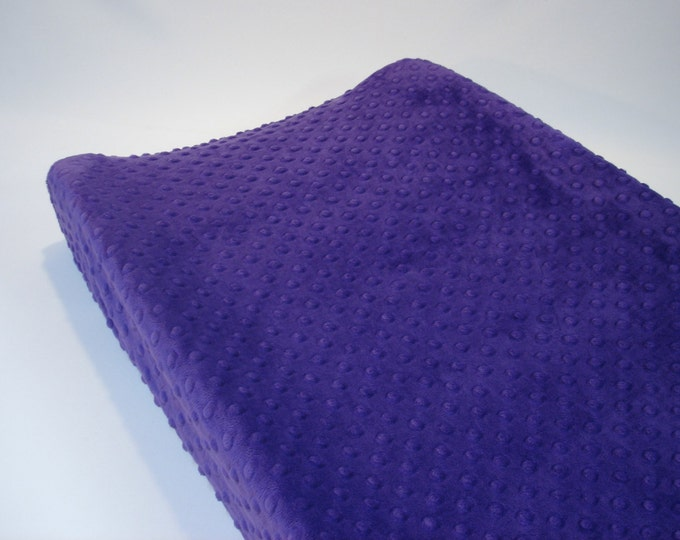 Changing Pad Cover Amethyst Purple