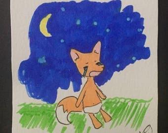 Baby Fox Crying