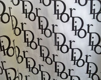 Christian Dior very long scarf wrap