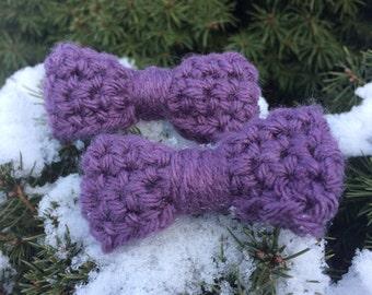 Dusty Purple Bows