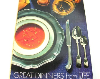 Great Dinners from Life, Vintage Book