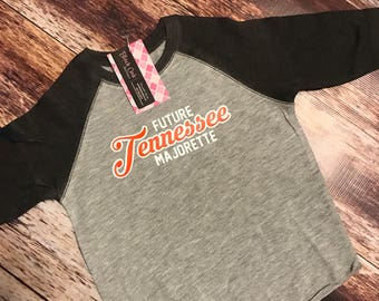 Future Tennessee Majorette Raglan