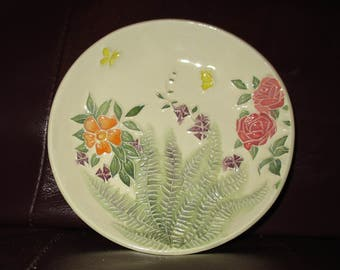 "Sweet Garden Handmade Ceramic wall hanging   5""                                              203"