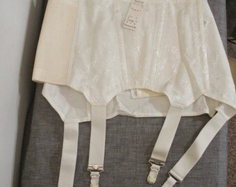 Vintage Perma Lift Girdle with Garters - New Old Stock