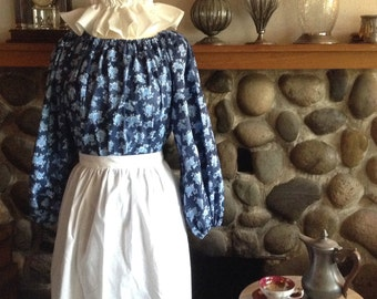 Colonial Costume Dress Civil War Pioneer Prairie Ready to Ship