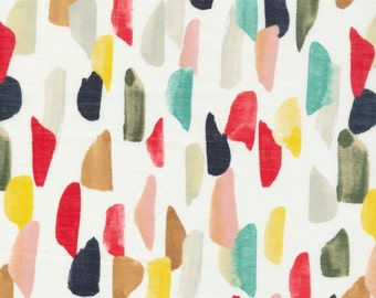 Cloud 9 Fabrics - Frolic Collection by Sarah York - VOILE Avila in Multi Organic