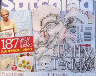 The World Of Cross Stitching British Magazine 2009 Christmas Issue 171