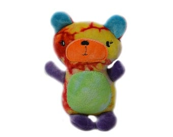 Rainbow Plush Bear Toy