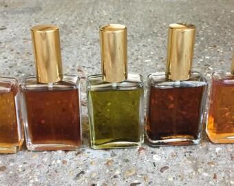 Your Divine Essence Perfume©, Custom Bespoke eau de parfum spray, custom natural perfume, organic artisan perfume, botanical perfume, vegan