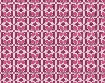 LAMINATED COTTON Riley Blake Designs Halle Graphic Orchid Fabric by the Yard