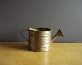 Sweet Brass Watering Can - Small Brass Watering Can