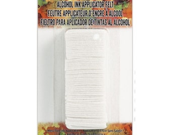 Adirondack Alcohol Ink Applicator Felt by Ranger Inks, designed by Tim Holtz