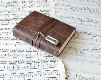 The Lil' Musician - A Leather Journal for Music Lovers