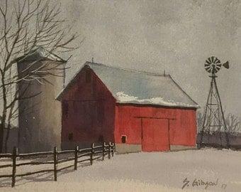 The Johansen Barn