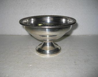 Vintage Sterling Towle Mueck-Carey Weighted Compote Candy Dish Model 811 117 Grams #021018