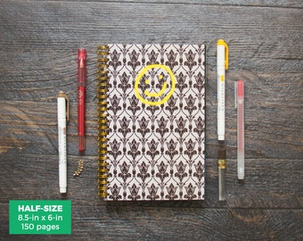 Sherlock Planner / Weekly / Half-Size / 12 Months / Choose Your Layout (Vertical or Horizontal) / Pick Your Own Starting Month