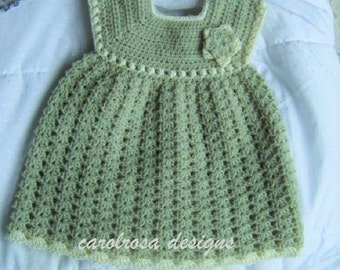GISELLE - Early Baby/Prem/Preemie/Doll Crochet PATTERN Christening gown -  Designer
