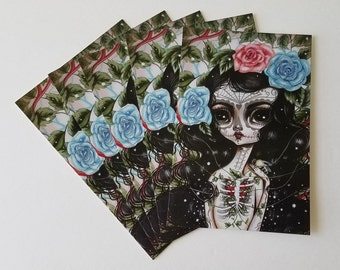 Pack of 5 Postcards-Heart's Growth