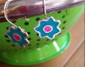 Isable -flowers earrings