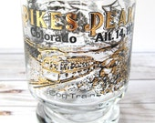 VINTAGE - Pikes Peak Shot Glass - Colorado
