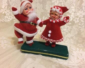 Santa  and Mrs Claus Decoration