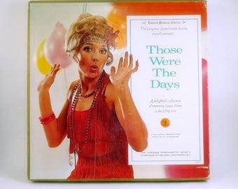LONGINES Symphonette Records Set Boxed 6 Lps Those Were the Days Near Mint