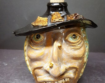 Witch Face Jug