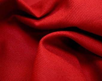 Ranger Cardinal Red Twill Fabric