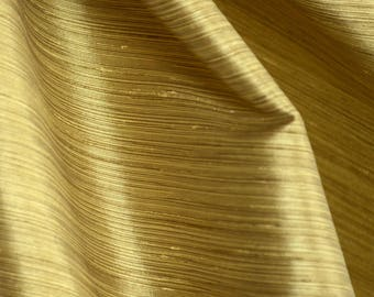Borgata Gold Stria Fabric