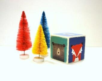 NEW  Little By Little Wood Bank, Money Box, Wood, Money Bank, Children, Kids, money, Coin Box, Fox, Bear, Badger, Children, Handmade