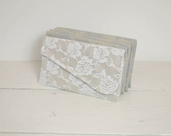 RESERVED Set of 7 wedding clutches