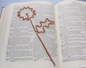 Dandelion wish bookmark flower wish bookmark